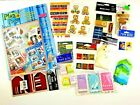 Scrapbook Stickers Tags Plan A Page Letters Buttons Lot 500 or more