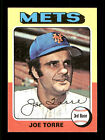Joe Torre Auto Autographed Signed 1975 Topps Mini Card #565 New York Mets 168558