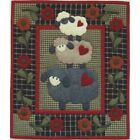 Wooly Sheep Applique QUILT KIT 13 x 15 Rachels of Greenfield Wallhanging