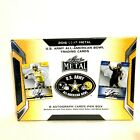 2016 Leaf US Army All American Football BOX 8 Auto Patch Metcalf Eason Patterson