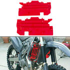 Radiator Louvers Red #8459900002 for Honda CR125R/CR250R/CRF450R 00-04