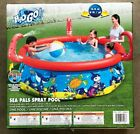Large Inflatable Swimming Pool for Kids Sea Pals Spray Pool by Bestway H2O GO