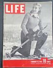 February 19, 1945 LIFE Magazine WWII War 40s advertising ads FREE SHIPPING Feb 2