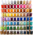 80 Spools Polyester Embroidery Machine Thread Kit 500M 550Y