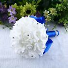 Artificial Rose Flower Bouquet Wedding Party Bridal Bride Bridesmaid Gift New