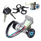 4Pin Ignition Key Switch Lock Kit for 50cc 125cc 150cc 250cc ATV Moped Scooters