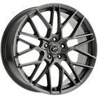 4 Platinum 459GN Retribution 18x8 5x110 +35mm Gunmetal Wheels Rims 18 Inch