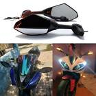 LED Turn Signal Mirrors For 2002 2003 2004 2005 2006 Yamaha YZF R1 R6 600R FZ6 Q