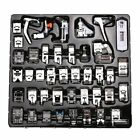 52pc Professional Domestic Sewing Foot Presser Feet Set for Singer Brother Janom