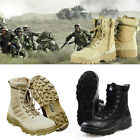 Forced Tactical Entry Boots Leather Military SWAT Duty Work Shoes Non slip New