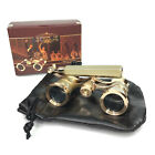 Kingscope Vintage Opera Glasses Binoculars for Theater with Handle New Open Box