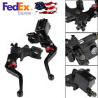 2X Motorcycle Brake Master Cylinder Clutch Lever Aluminum For Motorcycle ATV etc