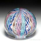 Unidentified maker possibly Murano crown glass paperweight
