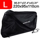 Large Bike Motorcycle Cover Waterproof Scooter Outdoor Rain UV Protector Storage