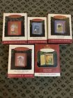 Hallmark Keepsake Ornament Series Mother Goose Complete Lot/5 Story Book