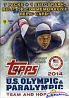 2014 Topps US Olympic and Paralympic Team and Hopefuls Trading Cards 35