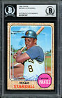 Willie Stargell Autographed Auto 1968 Topps Card #86 Pirates Beckett 12057257