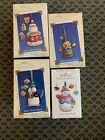 Hallmark Ornaments Collectors Series Sweet Tooth Treats Lot/4 Nos 2, 3, 4, 5 NEW