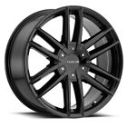 4 18 Inch Raceline 158B Impulse 18x8 5x45 5x5 +35mm Gloss Black Wheels Rims