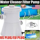 220V Electric Swimming Pool Filter Pump For Above Ground Pools Cleaning Tool Set