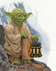 Counted Cross Stitch Kit ~ Dimensions Star Wars - Yoda #70-35392