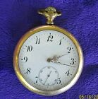 LONGINES POCKET WATCH    4 REPAIR PROJECT     FREE SHIPPING                DR17A