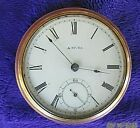 A.W.CO. WALTHAM  POCKET WATCH    4 REPAIR PROJECT     FREE SHIPPING   DR17A