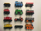 Thomas & Friends Wooden Railway Train Lot Of 12 Engines & Cars - Learning Curve