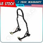 New Motorcycle Sport Bike Rear Wheel Chock Lift Stand For Universal Black
