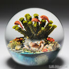 Cathy Richardson 2009 octopus, clownfish and coral paperweight