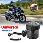 Universal Motorcycle Front Brake Clutch Fluid Bottle Oil Cylinder Reservoir