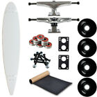 Moose Longboard Complete 9 x 4775 Pintail White