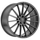 4 Mandrus Stirling 20x9 5x112 +32mm Gunmetal Wheels Rims