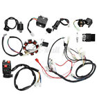 Electric Wiring Harness Wire Loom CDI Motor Stator For ATV QUAD 150 200 250CC