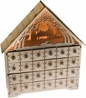 Nativity Scene Advent Calendar Wooden 24 Day Countdown to Christmas Advent