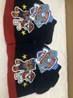 2 Of Nickelodeon Paw Patrol Kids Blue Knit Beanie & Mittens Set-Chase & Marshall