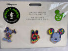 Disney Store Mickey Mouse Memories Series 6 12 Pin Set of 3 Limited Release NEW