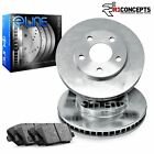 For Tracker Sidekick X 90 Front Plain Brake Rotors+Ceramic Brake Pads