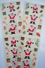 Mrs Grossmans CHRISTMAS Sticker Lot 2 Strips SANTA  Things Accent Stickers