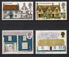 GB 1970 Commemorative Stamps Cottages Unmounted Mint Set UK Seller