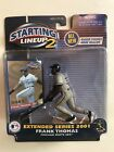 FRANK THOMAS CHICAGO WHITE SOX EXTENDED SERIES 2001 STARTING LINEUP FIGURE