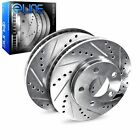 Brake Rotors REAR ELINE DRILLED SLOTTED -BMW 850Ci