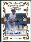 Paul Molitor Autographed 2011 Leaf Legends of Sport Card 14 31