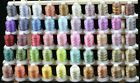 50 Cones 550Y Variegated Colors Polyester Embroidery Machine Multi color Threads