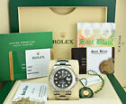 ROLEX Mens Platinum & Stainless Yachtmaster Rhodium Dial CARD 116622 SANT BLANC