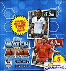 2013 14 Topps Match Attax Premier League Soccer BOX-50 Factory Sealed Packs !