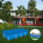 Rectangular Swimming Pool Cover Dust proof UV resistant Dustproof Protect Cover