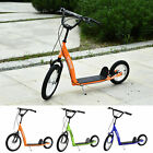 Youth Kick Scooter Height Adjustable Inflatable Tires Teens Ride On Toy For 5+