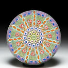 Perthshire Paperweights patterned millefiori and twists glass paperweight