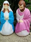 Vintage Empire Nativity Set of Mary and Joseph Blow Molds